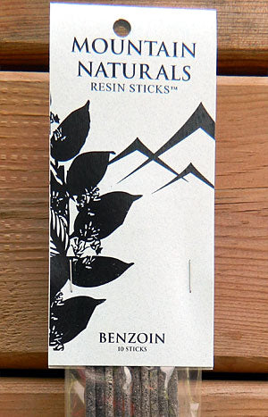 Mountain Naturals Benzoin Resin Incense