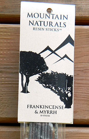 Mountain Naturals Frankincense and Myrrh Resin Incense