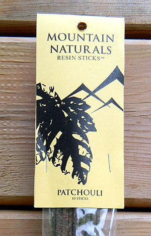 Mountain Naturals Patchouli Resin Incense