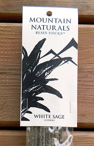 Mountain Naturals White Sage Resin Incense