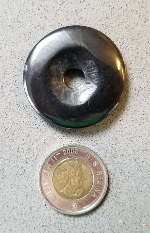 Polished Gemstones - Shungite Round Donut