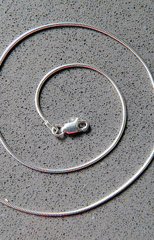 Sterling Silver Snake Chain 030
