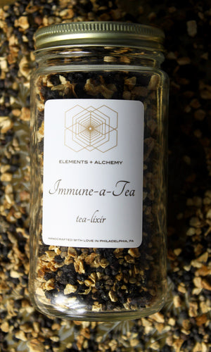 Immune-a-Tea Herbal Tea-Lixir with Elderberries