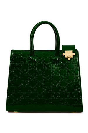 MINI IBUKUN PATENT LEATHER TOTE