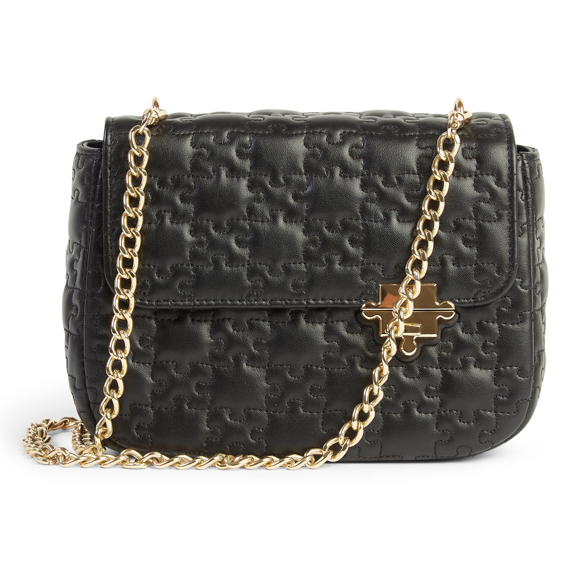 DARASIMI LAMBSKIN CHAIN BAG