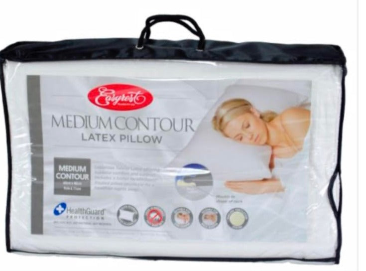 Medium Contour Latex Pillow (Easyrest)