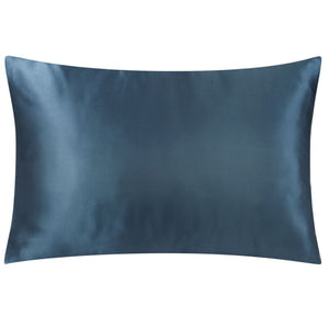 Dark Denim Satin Standard Pillowcase