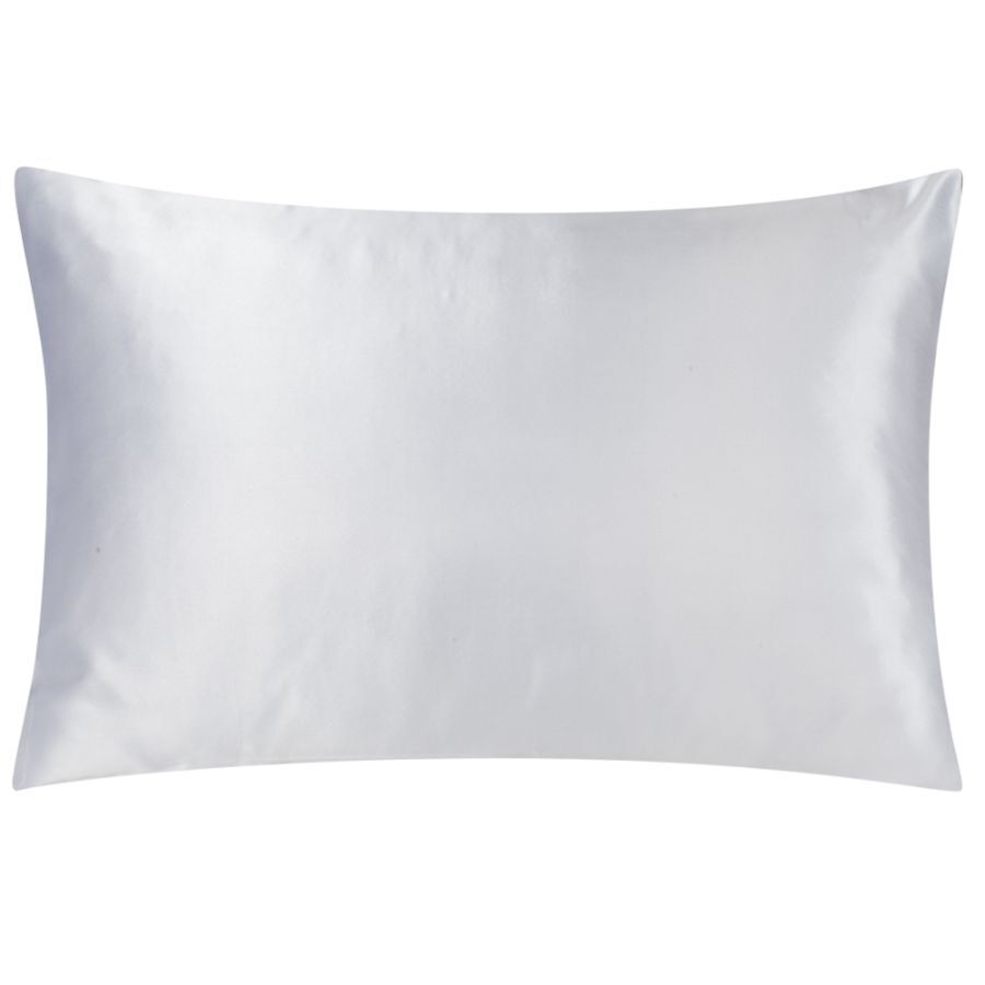 White Satin Standard Pillowcase (Hoteluxe)