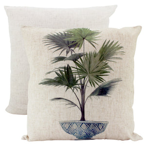 Estate Potted Palm Cushion