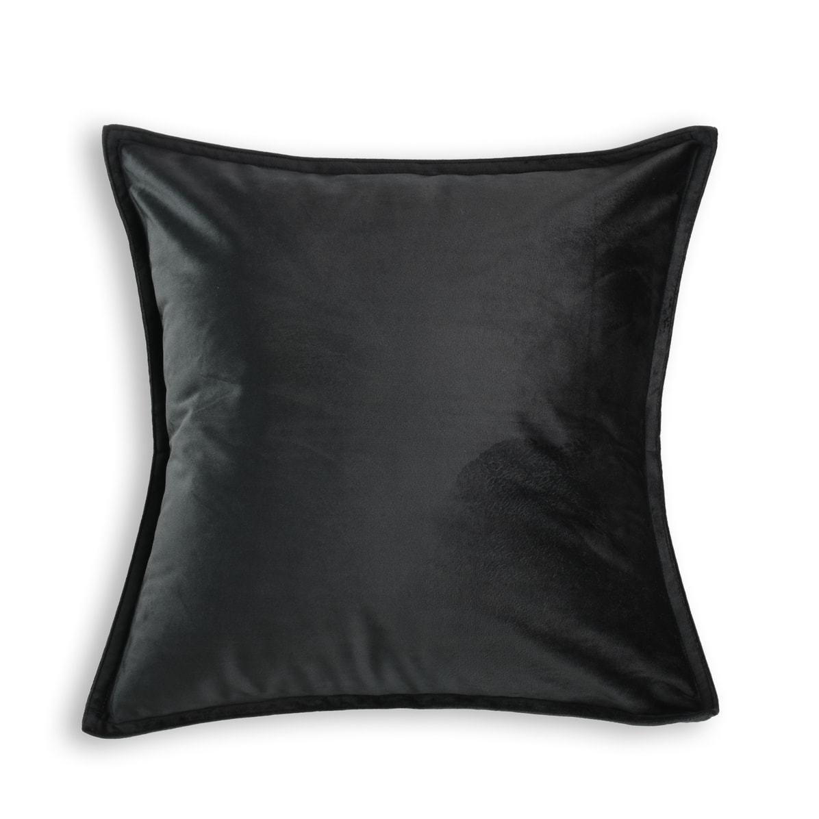 Velvet Black European Pillowcase