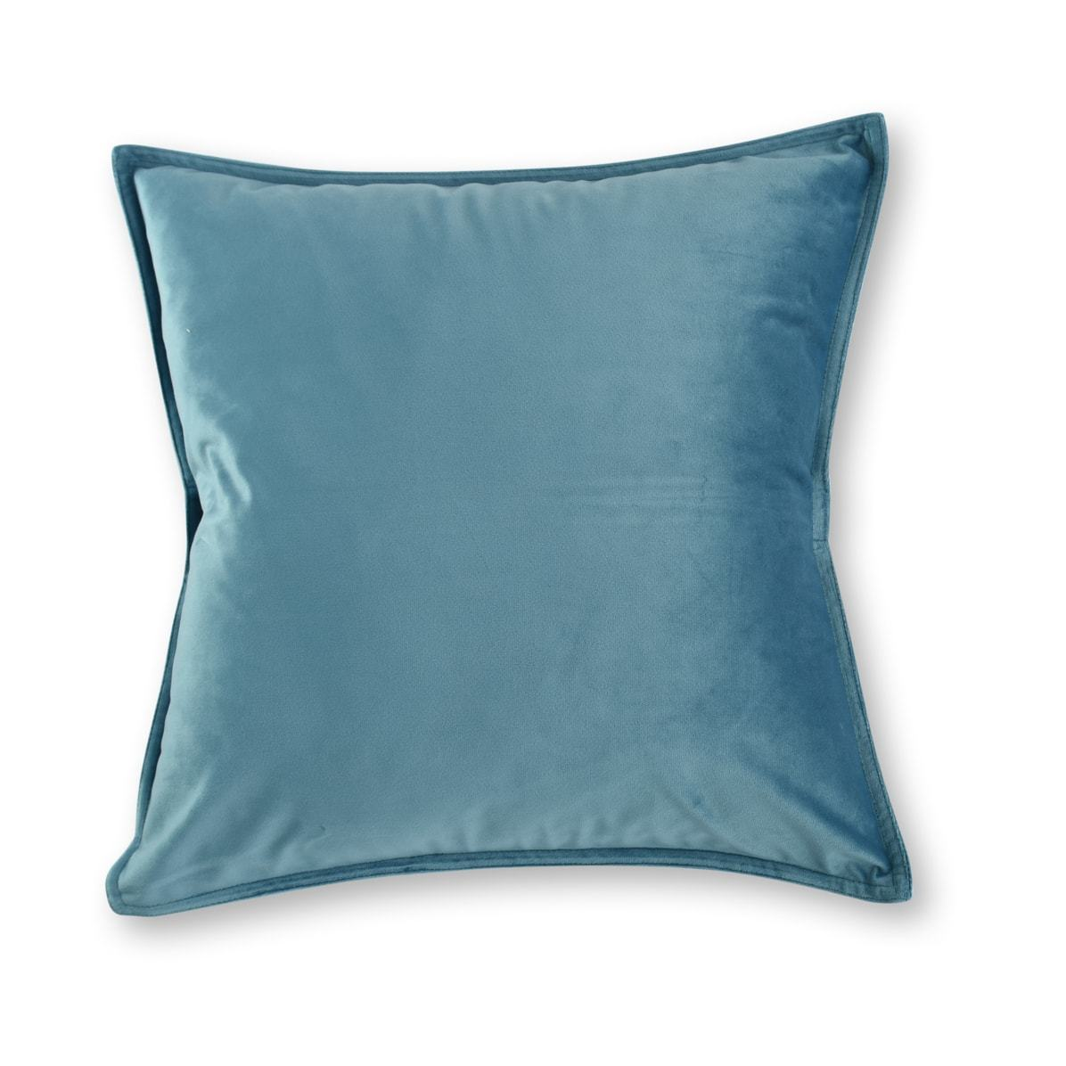 Velvet Blue European Pillowcase