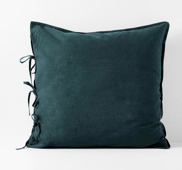 Maison Vintage Indian Teal European Pillowcase