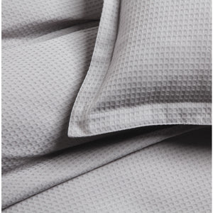 Ascot Pewter Quilt Cover set (Logan & Mason)