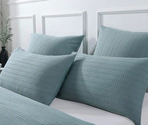 Jax Blue Quilt Cover Set