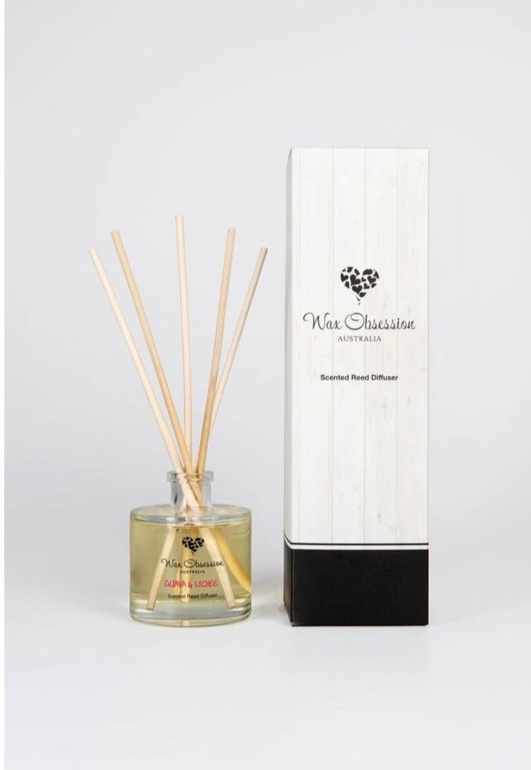 Guava & Lychee Reed Diffuser (Wax Obsession)