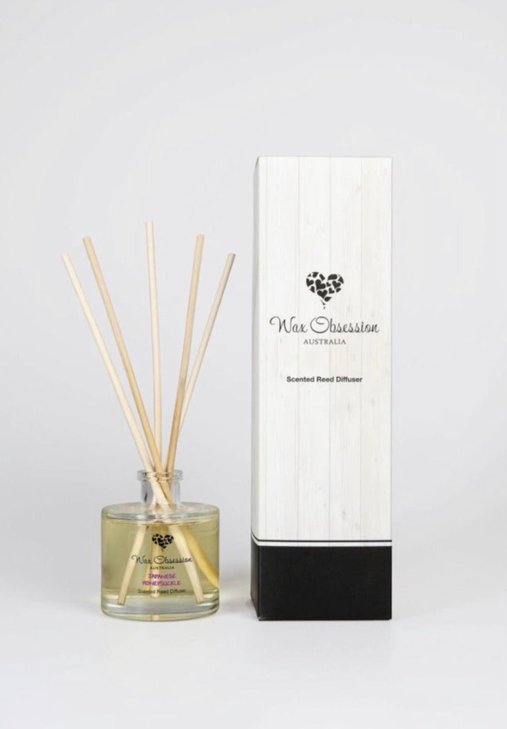 Japanese Honeysuckle Reed Diffuser (Wax Obsession)