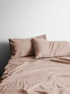 370 Thread Count Rosewater Halo Organic Sheet Set