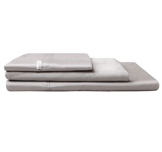 400 Thread Count Pewter Sheet Set
