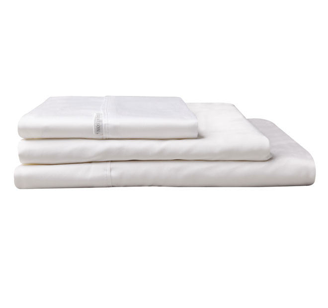 400 Thread Count White Sheet Set