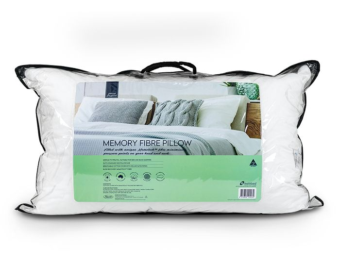 Cloud Support Memory Fibre Standard Pillow