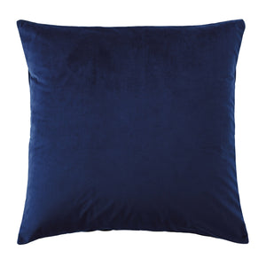 Vivid Coordinates Velvet Indigo European Pillowcase