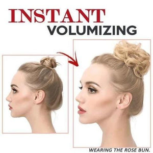 Messy Rose Bun-Create your own style in seconds