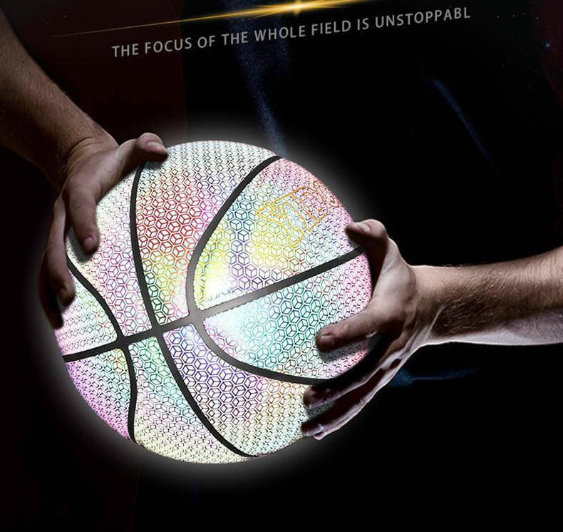 Glowing Reflective Basketball-Buy 2 Free Shipping&Save$10