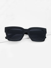 Load image into Gallery viewer, Acetate Frame Flat Lens Sunglasses