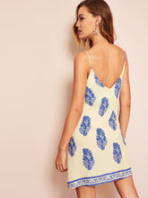 Load image into Gallery viewer, SHEIN Botanical Print Cami Dress