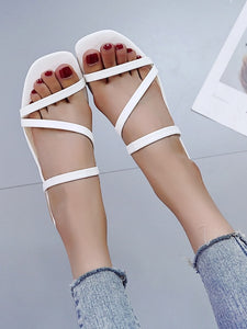 Open Toe Strappy Sandals