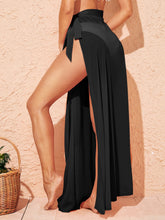 Load image into Gallery viewer, SHEIN Wrap Tie Side Cover Up Skirt