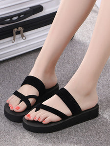Toe Ring Solid Sliders