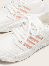 Load image into Gallery viewer, Striped Lace-up Front Sneakers