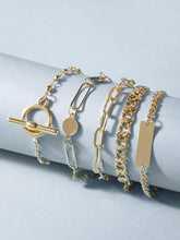 Load image into Gallery viewer, 5pcs Chain Bracelet