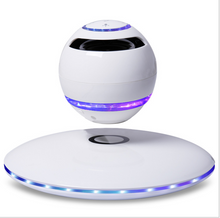 Load image into Gallery viewer, Arc Star Floating Speaker | Bluetooth and NFC | Smartphone Charger | 360° Sound