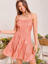 Load image into Gallery viewer, SHEIN Allover Print Cami Dress