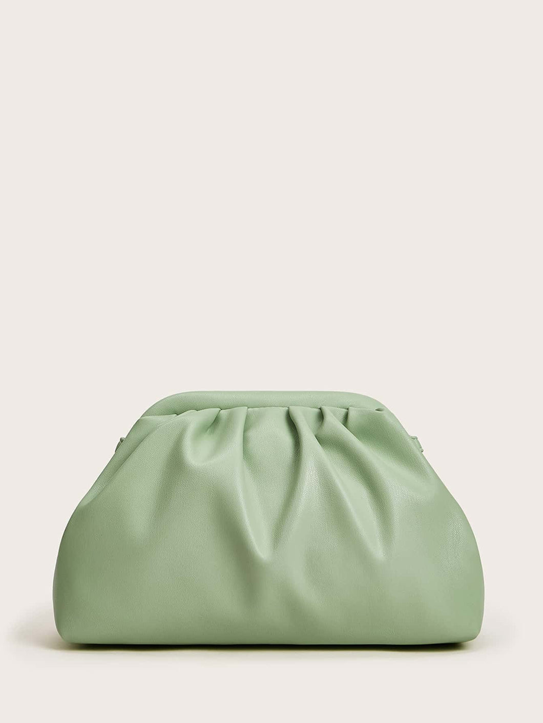 Ruched Shoulder Bag