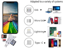 Load image into Gallery viewer, Versatile High Speed 4 in 1 SD Card Reader For All Devices - 70% OFF