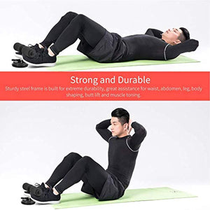 Sit-up Aids Suction Cup-Type Abdominal Muscle Training Home Fitness Roll-up Equipment for Men and Women