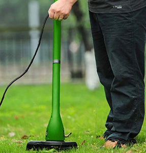 Handheld Mini Garden Grass Trimmer Weed Cutter Mower with 400w + Power cord length 15m