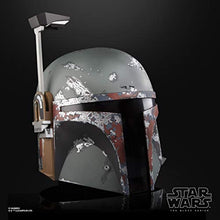 Load image into Gallery viewer, Star Wars The Black Series Boba Fett Premium Electronic Helmet, The Empire Strikes Back Full-Scale Roleplay Collectible