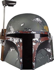 Star Wars The Black Series Boba Fett Premium Electronic Helmet, The Empire Strikes Back Full-Scale Roleplay Collectible