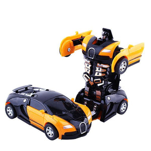 LAST DAY 70% OFF !! Transformer Robot Car