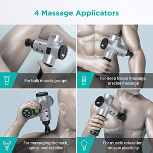 M3 Pro Massage Gun Deep Tissue Percussion Muscle Massager for Pain Relief