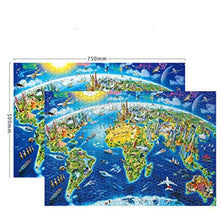 Load image into Gallery viewer, Jigsaw Puzzles 1000 Piece for Kids Adults Puzzle Cherrys Game Interesting Toys Educational Personalized Gift (Blue, A)