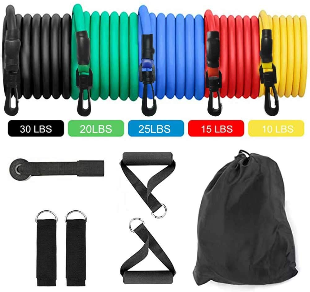 Finance Plan Workouts at Home,Gym Fitness Equipment Tension Ring Loops Yoga Strength Training Resistance Band