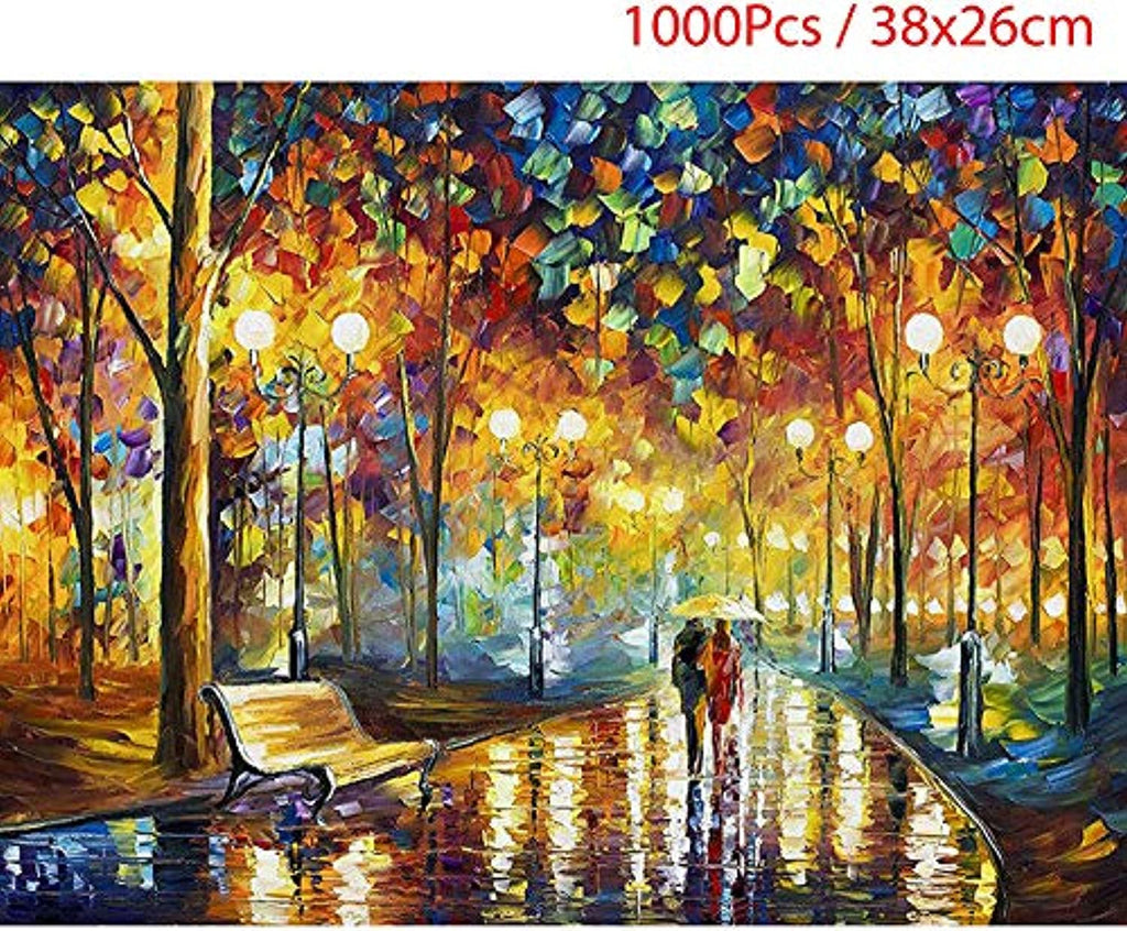 Toysdone New 1000 Piece Puzzles for Adults Jigsaw Puzzle Size:38x26cm