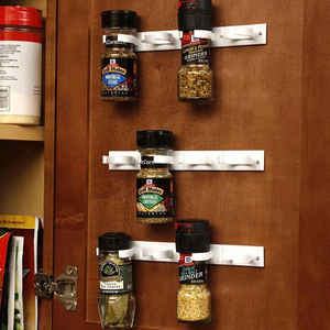 Spice Gripper Clip Strips for Plastic Jars - Save your space