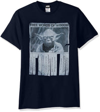 Load image into Gallery viewer, Star Wars Men's Words Of Wisdom T-Shirt