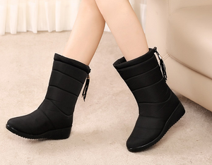 Waterproof Faux Fur Snow Boots【Warm, non-slip, durable】【FAST Shipping】